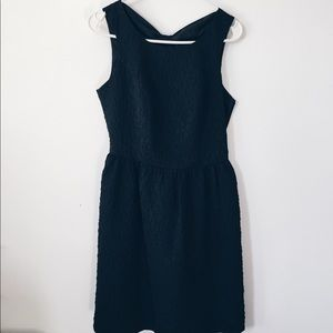 Black Dress with Back Detail